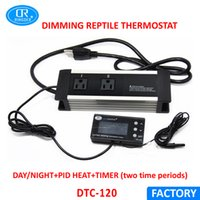 Wholesale Thermostat Dimmer - RINGDER DTC-120 110V 60HZ 0-50°C Digital Aquarium Reptile Dimming Thermostat with USA Plug and Socket Regulator Temperature Controller