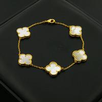 bijoux de diamant achat en gros de-Bracelet en acier 316L titane bracelet avec fleur en pierre vert noir rouge et diamants en longueur de 18cm pour les femmes et les bijoux bracelet homme