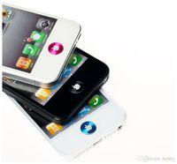 ipad verpackung groihandel-HOME Aufkleber 100 Stück pro Packung, dünne Metallschlüssel befestigt, passend für iphone / ipad / ipod Apfelknopf Aufkleber