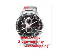 Wholesale Eco Drive Watches - Wholesale-CA0030 NEW ECO-DRIVE SUPER TITANIUM CHRONOGRAPH SAPPHIRE SPORTS WATCH CA0030-52E