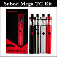 Wholesale Mega Red - Subvod Mega TC Starter Kit clone 2300mAh Temperature Control Battery with 4ml Top Refilling Tank kangertech subvod mega full kit