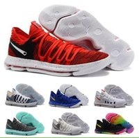 Wholesale Cheap Kd V Shoes - Cheap Kd Basketball Shoes Sneakers Men Kevin Durant Kds 10 V Bhm Elite Low Red Sports China Athletics Brand Man Femme Trainers Shoe
