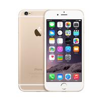 Wholesale Dual Slim Mobile Phone - Unlocked Original Apple iPhone 6 6 Plus without fingerprint LTE Mobile phone Ultra Slim IOS 1GB RAM 1080P 8MP refurbished cellphone