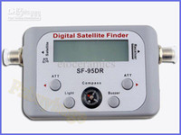 Wholesale Signal Finder For Satellite Dish - Wholesale Lots30 SF-95DR Satellite Signal Finder Satfinder Tool Find Meter LCD DIRECTV Dish FTA Digital Displaying For TV Singnal Finder Met