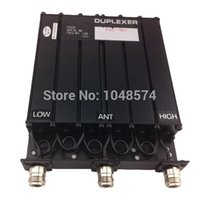Wholesale Uhf Cavity Duplexer - Wholesale-Free shipping 450MHz 30W UHF Duplexer 6 Cavity N Female connector for radio repeater