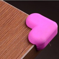 Wholesale Corner Safety Rubber - Wholesale- corner protector table 4 pcs child baby safety rubber corner baby products baby safety products sicurezza bambini great