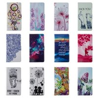 Wholesale s3 case card holder resale online - For Huawei P8 lite Galaxy s3 s5mini Classic Hot Colorful Leather TPU Flip Wallet Cover For Samsung Galaxy A310 A510 Fundas Card Holder