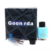 Wholesale Pc Cloning - 5 pcs!!Newest GOON RDA Clone Rebuildable Dripping Atomizers Adjustable Top Airflow 24mm PEEK Insulators 4 Colors Fit 510 Mods DHL Free