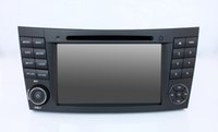 Wholesale Dvd Tv Car Mercedes - Quad Core Android 5.1.1 1024*600 Car DVD Player fit for Mercedes Benz E Class W211 W209 W219 3G WIFI Radio Stereo GPS Navigation bluetooth