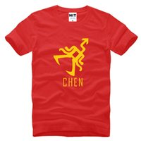 Wholesale Xoxo Shirt - WISHCART WISHCART wolf XOXO Chen Printed Mens Men T Shirt T-shirt 2016 Short Sleeve O Neck Cotton Casual Tshirt Tee Hombre