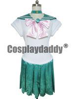 Wholesale Serena Cosplay - Sailor Moon Serena Lita Kino Jupiter Green Cosplay Costume