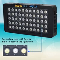 Wholesale Canada Led Bulbs - Marshydro 165w dimmable LED Aquarium Light for marine coral reef stock in USA,UK,Germany,Australia,Canada local shipping duty free