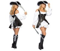 Grossiste-Costume Sexy pour Femme Costume Maiden Pirate