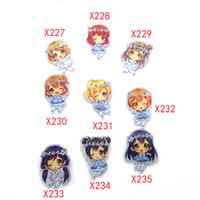 ingrosso ghirlanda viva-9pcs / lot Anime LoveLive school love live! Garland Dress Fairyladys maki, nozomi, kotori, nico badge Spilla Decorazione scarpa