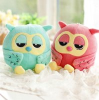 Wholesale Popular Kids Games - 20CM Popular Night Owl Plush Toy Baby Toys Stuffed Animal Doll 2 Colors Soft Baby Birthday Gifts Kids Toy