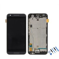 Wholesale T328e Desire X - OEM Original LCD Screen Display Touch Assembly for HTC Desire X T328e+with frame