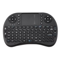 Batterie incluse Air Mouse I8 Mini clavier sans fil 2.4G avec Touchpad Handheld Keyboard Touch Board pour PC Android TV MINI Flymouse