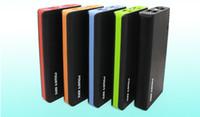 Wholesale Real Capacity Power Bank - Free shipping manufactory selling 4 USB external battery 20000mah portable tablet power bank with real capacity
