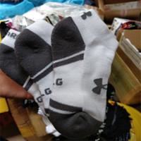 Wholesale Boys Socks Size 12 - UA men socks kids boys short ankle socks UA Fashion summer sports low cut linners crew socks for child free size men sock stockings