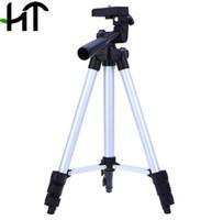 weifeng tripodlar toptan satış-Fuji Canon, Sony Nikon Kamera ile Bag için Weifeng WT-3110A 4 Bölümler Taşınabilir Evrensel Hafif Daimi Tripod