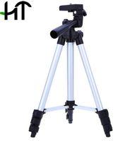 evrensel tripodlar toptan satış-WEIFENG WT-3110A 4 Bölümler için Taşınabilir Evrensel Hafif Ayakta Tripod Fuji Canon Sony Nikon Kamera Çantası ile