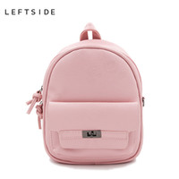Wholesale Backpack Cooler Pocket - Back Pack Women PU Leather Backpack For School Teens Girls Bags Cool Small Bag Pack Women Multifunction Crossbody Bag