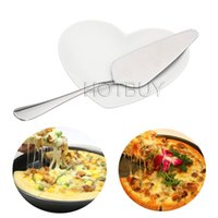 Wholesale Triangle Handle - 500X Triangle Pizza Pie Spade Stainless Steel Handle Cake Shovel Bread Spatula Stainless Steel Kitchen Baking Tools #4163