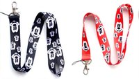 Wholesale Minnie Lanyard - Free Shipping 50 Lot Mixed Cute Classic Character Mickey & Minnie Mouse Face Lanyard Keys ID Neck Strap