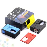 Wholesale feeder singles resale online - S Rabbit Squonk BF Box Mod with Silicon Ejuice Bottle Fit Single battery Bottom Feeder S Rabbit E Cigarette DHL Free