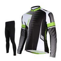 Tasdan Professional Cycling Jersey ternos manga comprida Ciclismo Top completa Curto Jersey ciclismo e Pants (bib) Suit
