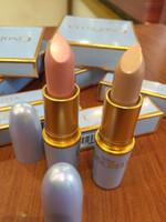 lápices labiales impermeables al por mayor-Edición limitada Cinderella Pintalabios Barra de labios Desnuda de alta calidad 2 Color Impermeable Labio Mate Lápiz Labial Bebé Belleza Batom
