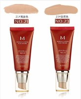 Wholesale Perfect Cover - Global Hot sales New Makeup M Perfect Cover BB Cream SPF42 BB CC Creams #21 And #23