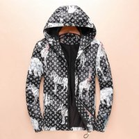 Wholesale Animal Wounds - L 2018 Autumn and Winter New Men's Windbreaker Jacket, Casual Fashion and Anti-wind Waterproof Long Sleeve Coat