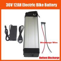 36v 12ah pil toptan satış-36 V 12AH pil 500 W 36 V 12AH Elektrikli Bisiklet pil Paketi ile 42 V 2A şarj ve 15A BMS Alt Deşarj