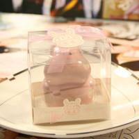 caixa de poupança de banco animal venda por atacado-Caixa de Dinheiro Animal Originalidade Crianças Presente de Dia Lembranças de Casamento Multicolor Poupança Caixas Hipopótamo Mealheiro Cerâmica 4 5hlb C R