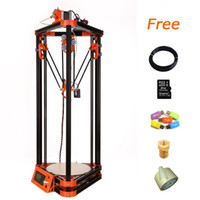 Wholesale Crystal Engraving Machine - 3D Rapid Prototyping 3d laser engraved crystal cube 3d printer machine with 40m Filament for Free 1503554
