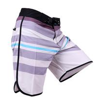 hombre troncos al por mayor-Traje de baño 2019 Verano de los hombres Spandex Boardshort Phantom Pantalones cortos de secado rápido Bermudas Surf Beach Traje de baño corto Homme