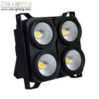 blinder bühnenlicht großhandel-Zita Lighting LED Blinder beleuchtet 4X100W Matrix COB Audience Lights Hintergrund Studio Bühnenbeleuchtung Par Fixture DMX Theater DJ Disco-Effekt