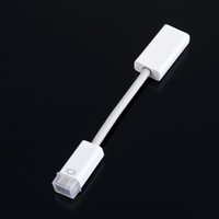 15cm Mini DVI MiniDVI Masculino para HDMI Cabo Fêmea HD 1080p Cabo adaptador para Apple Macbook PC Monitor Projetor TV LCD Atacado