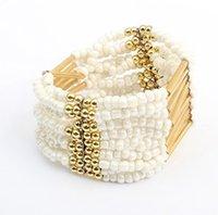 Wholesale China Trade Jewelry - 2017 for women new bracelets Bohemia style tassel seed fashion bracelet bracelet European trade selling jewelry