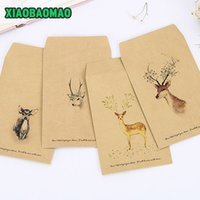 Atacado- 20pcs estilo ocidental papel kraft Vintage Papel <b>Envelope DIY</b> Multifuncional papel Kraft envelope / 16X11cm