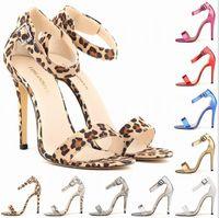 Wholesale Joker Sexy Dress - 2016 the New England sexy joker round head hasp stiletto heel nightclub female sandals wedding party