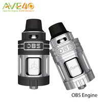Wholesale Flow Engine - Authentic New OBS Engine RTA RBA Atomizer Tank Side Filling Top Air Flow Temperature Control VS OBS Crius Tank
