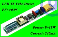 Wholesale T8 18w Led Driver Wholesale - High Power Constant Current Led Tube Transformer power supply T8 LED Tube Driver 18W 240ma 12W 14W 15w 16w AC 220V DC