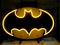 "Wholesale Batman Display - BATMAN COMIC HERO Neon Sign Custom Store Display Beer Bar Pub Club Light Signs Shop Decorate Real Glass Tube Bulbs 17""x14"""