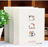 Wholesale Toto Wholesalers - Wholesale- Cute Panda BOBO&TOTO diary memo notebook daily organizer Planner memo pocket daily agenda