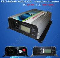 Wholesale Wind Turbines Inverter - wind turbine 1000w inverter,dc to ac wind grid tie inverter,48v 230v wind converter