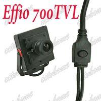 Wholesale Cctv Board Osd - Mini HD Camera Sony Effio-E 700TVL 6mm MTV Board Lens OSD Security Color CCTV camera for FPV System