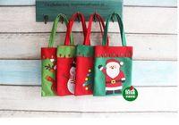 Wholesale Christmas Tree Plastic Bags - 2016 Christmas Hot Sale Christmas Decorations Wholesale Christmas Gifts Bags Christmas Products Candy Bags Christmas Gift Bags Tote Bag