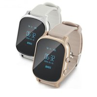 Wholesale Personal Gps Watch - BTL T58 GPS Tracker Personal Locator Kids elderly or adult tracking Smart Watch for iOS Android